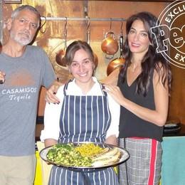 La cuoca di Clooney e Amal  si chiama Viviana ed è comasca