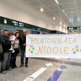 Da Miami a Vighizzolo   Quattro mesi dopo Nicole è a casa