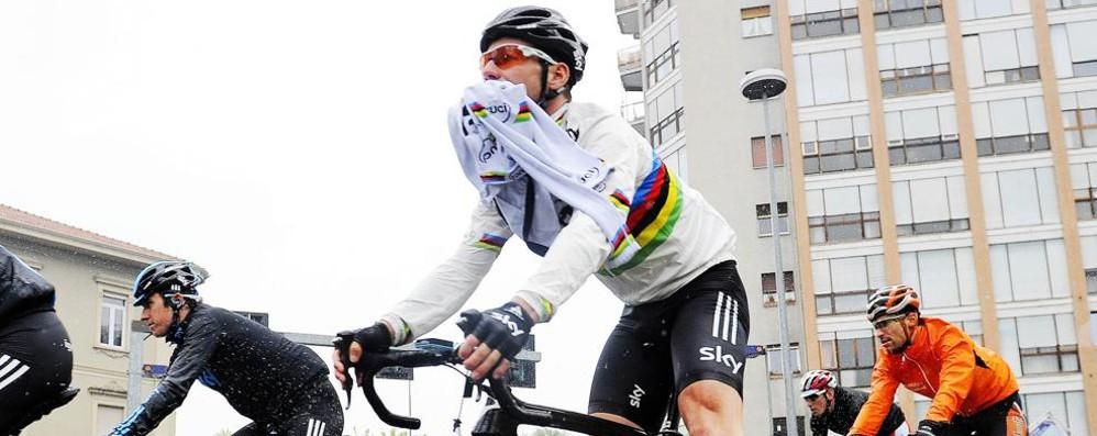 Voilà: il Giro 2019  Una tappa a Como  e la Valtellina dura