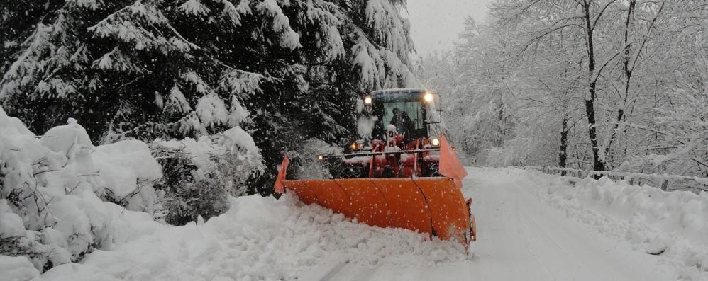 Pronto il piano contro le nevicate  Due milioni e 57 imprese in strada