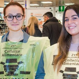 La Colletta alimentare  Mobilitati 1500 volontari  in cento supermercati