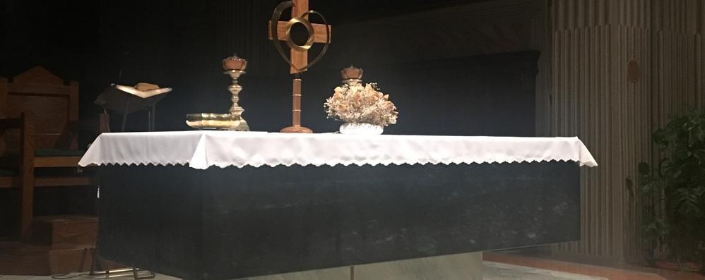 Maccio, acqua dall'altare del santuario  Il rettore: «Segni da non sottovalutare»