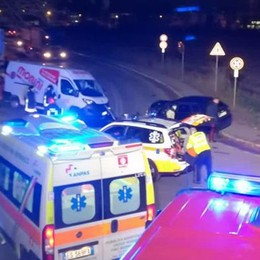 Incidente a Villa Guardia Ferite due persone