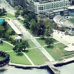 Giardini a lago con skate park e verde  Addio alla fontana, ma slitta tutto al 2020