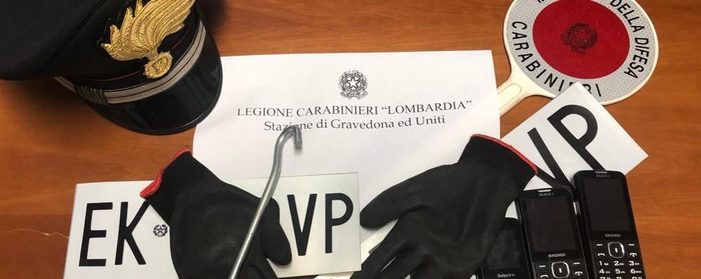 Gravedona: tre torinesi  fermati con i grimaldelli