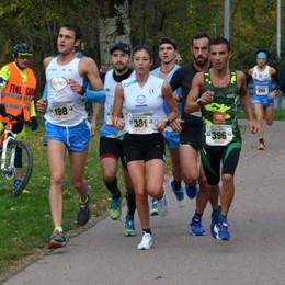 Dimiccoli sale sul podio alla Maratonina d'Autunno