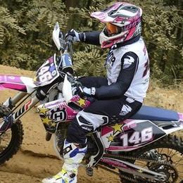 Alice architetto di Capiago  e campionessa di motocross