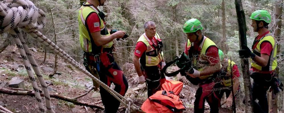 Due escursioni salvati  sul Monte Generoso