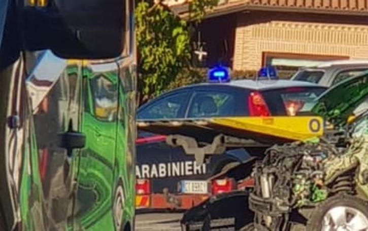 Olgiate, incidente all'incrocio  Due persone in ospedale