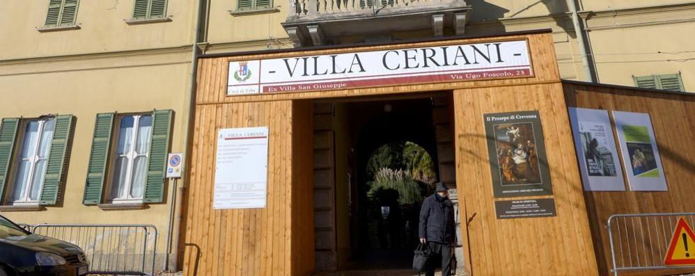"""Erba: «Basta con """"Villa Ceriani""""  Chiamiamola Villa San Giuseppe»"""