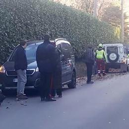 Montorfano, incidente in moto Grave un ragazzo di 25 anni