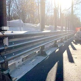 Albavilla, addio ai disagi al traffico  Dopo tre mesi riapre il ponte di Saruggia