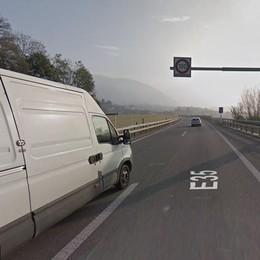 Incasso autovelox di Balerna  La stangata sui frontalieri  vale più di un milione al mese