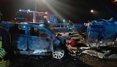 CERCINO: AUTO CONTROMANO  SI SCONTRA CON UN'ALTRA  6 MORTI: 4 DI TIRANO, UNO DI COMO