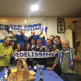 Como Club Fedelissimi Bellagio È una festa d'auguri con il toc