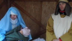 Presepe con sorpresa  Gesù è una bimba