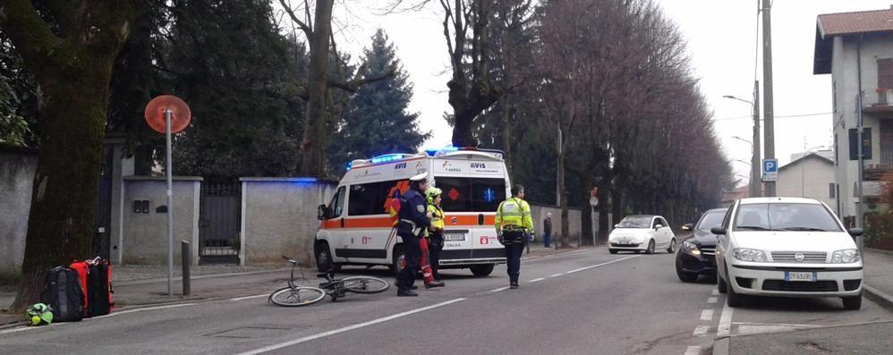 Incidente a Mariano:  ferito giovane ciclista