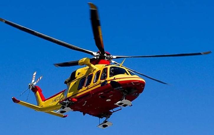 Incidente all'asilo L'elicottero a Zelbio