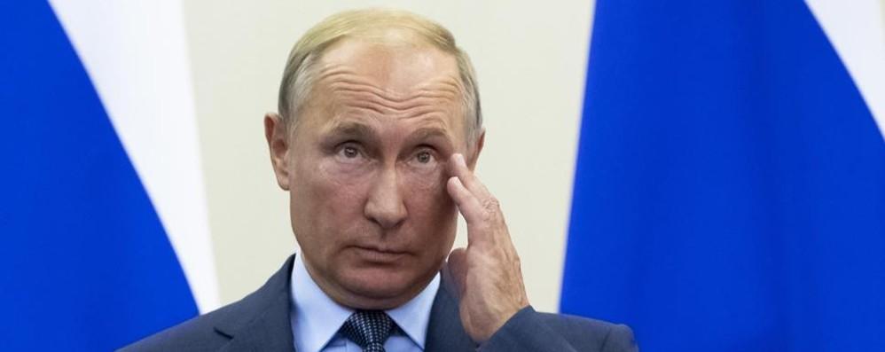 Putin: «C'è il rischio  di una guerra nucleare»