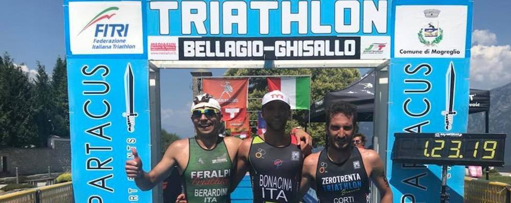 """Il triathlon perde un pezzo  Arriva lo stop per """"Bellagio"""""""