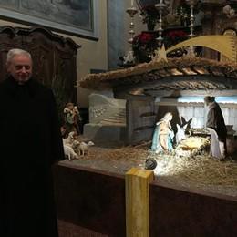 Il presepe di Carlo Castagna  «L'ultimo dono alla parrocchia»