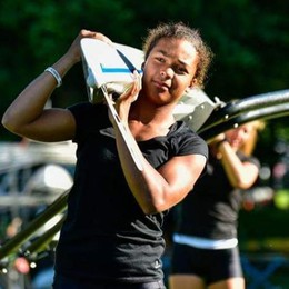 Agyemang, da Dizzasco alla gloria «Il mio sogno sono le Olimpiadi»