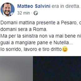 Salvini, dopo la Nutella  un tour alla Città dei Balocchi
