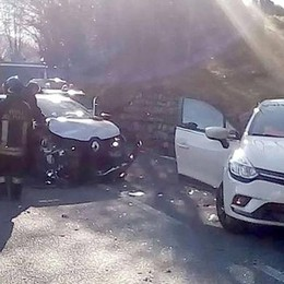 Incidente sulla curva Feriti a Sormano