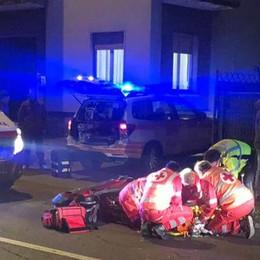 Travolto da auto pirata a Cantù  Ragazzo di 18 anni finisce in ospedale