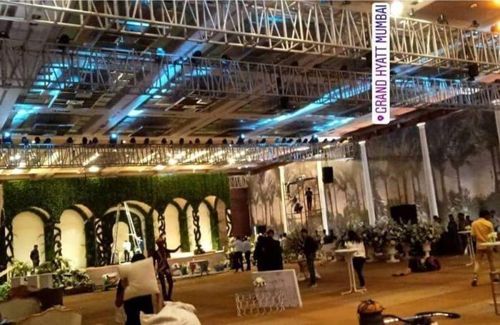 La riproduzione fedele della Loggia Durini al Gran Hyatt di Mumbai