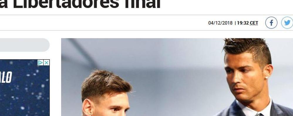 L'uomo delle beffe sbarca sul lago  Annuncio choc: Ronaldo cerca casa