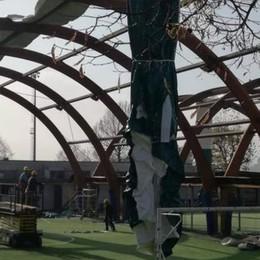 Vigilantes al centro sportivo  A Carugo troppi vandalismi