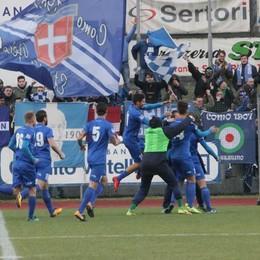 Gentile, e il Como vince a Sondrio Pari del Mantova: vetta a due punti