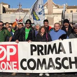 La Lega in piazza a Roma con Salvini  Treno, auto e bus per 500 comaschi