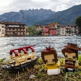 Renzo e Lucia a colori  I Promessi Sposi ad Albese  raccontati con i Lego