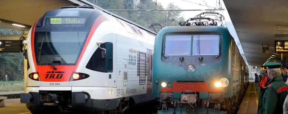 Investimento e lavori a Milano  Caos treni sulla Como-Chiasso