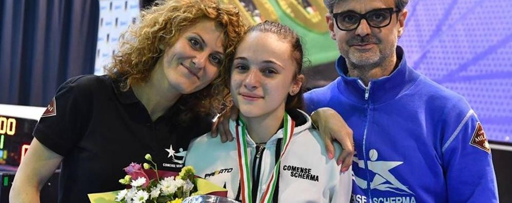 Campionati del Mediterraneo  La comasca Ferrari in Egitto