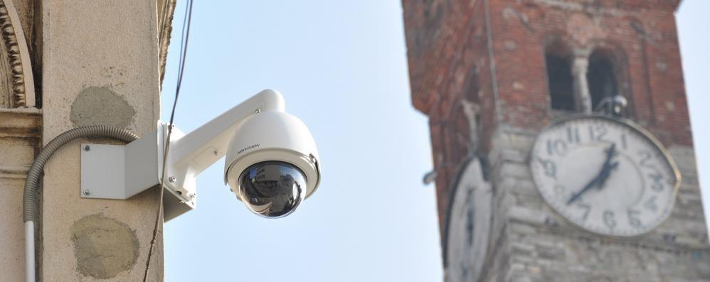 Cantù, occhi elettronici sulla movida  Altre due telecamere in piazza
