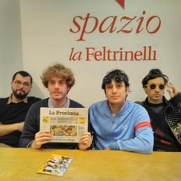 """Lo Stato Sociale, folla di fan a Milano  «Il successo non ci cambia, siamo """"indie"""""""