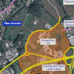 Villa Guardia, cittadella dello sport  Il progetto si sblocca