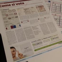 Elezioni politiche e regionali    Con La Provincia la guida al voto