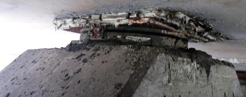 Viadotto, foto choc del ponte  E processo a rischio per un timbro