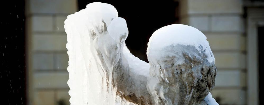 Dalla Siberia il grande gelo Freddo e nevicate in collina