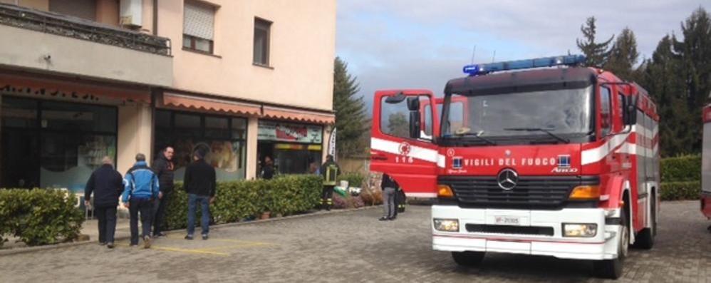 Esplosione in negozio  Paura a Bizzarone