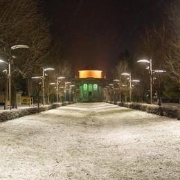 Como: il giorno più freddo  Temperature a -14