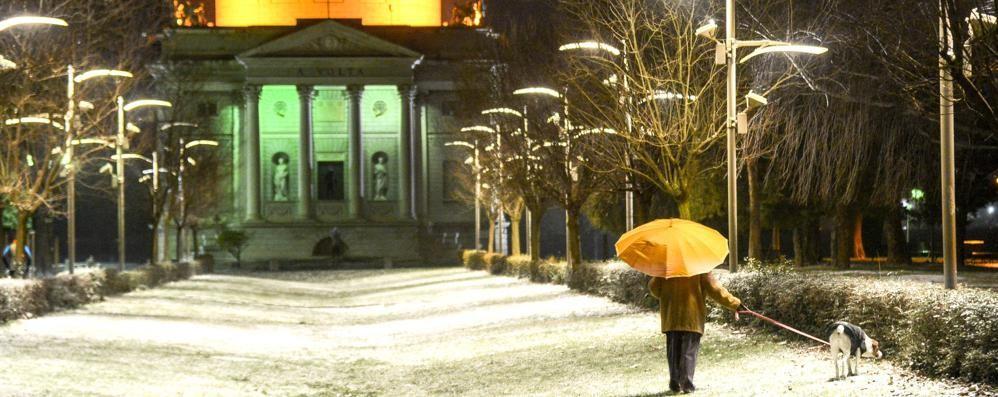 Ecco freddo e un po' di neve  Ora il pericolo è il ghiaccio   Guarda le previsioni