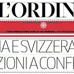 L'Ordine: i guai di Dostoevskij  E le elezioni tra Italia e Svizzera