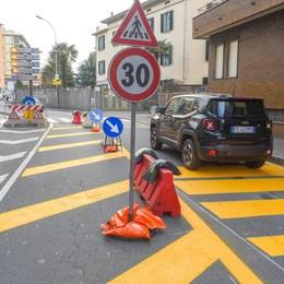 Viale Masia, troppi incidenti  Strada ristretta e 30 all'ora