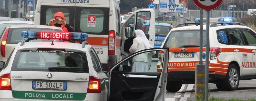 Mariano, ragazza investita   Al volante dell'auto una suora
