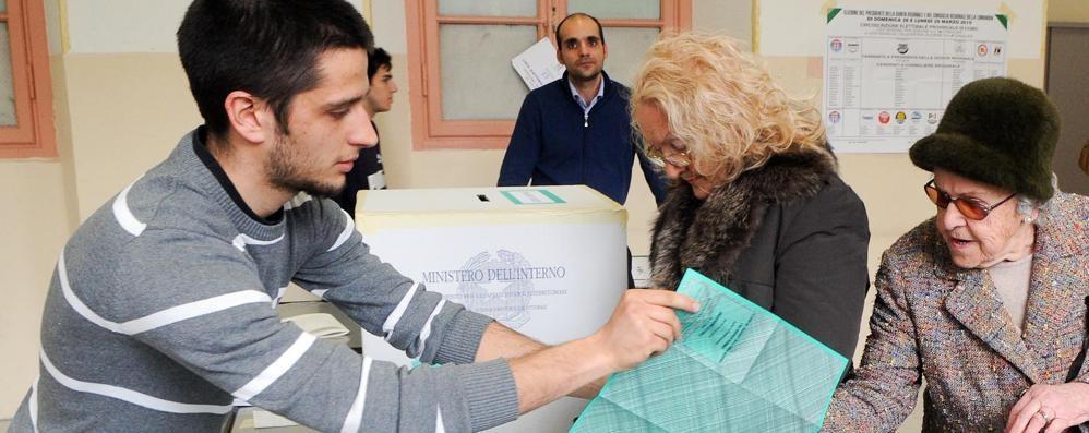 Como: elezioni regionali  Ecco l'ordinesulle schede